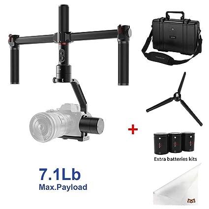 MOZA - Estabilizador de cámara de 3 ejes para cámaras sin espejo y ...