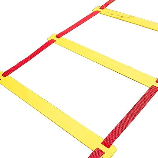 Escalera de velocidad Escalera de Agilidad de Fútbol Ajustable ...