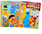 """Sesame Street 2-pack Coloring Book Set """"Favorite Friends"""" and """"T Is for Together"""""""