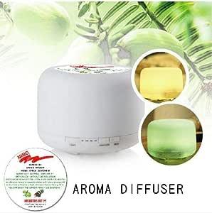 Humidifier Air Purifier Aroma Diffuser Air Treatment Warm Light 500ml