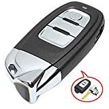 Beefunny 3 Button Smart Remote Key Fob 315MHz 8T0959754C Modified as for Lamborghini for Audi A4 S4 A5 S5 RS5 Q5 Quattro (1)
