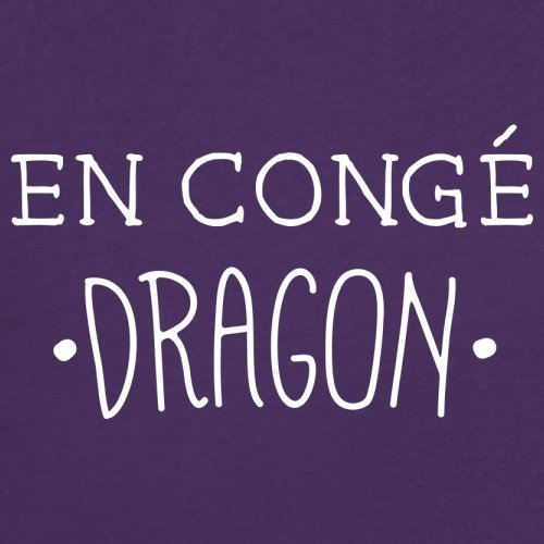 En congé fantasy dragon - Femme T-Shirt - Violet - M