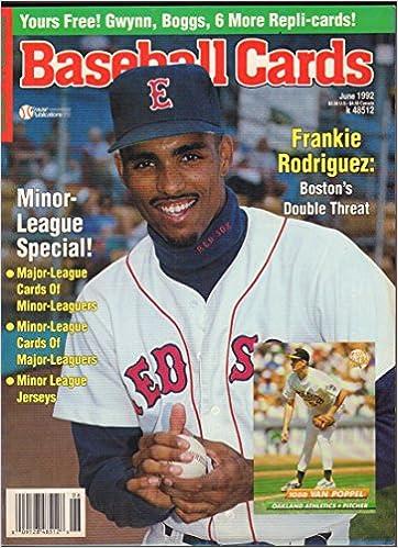 Baseball Cards June 1992 Frankie Rodriguez Todd Van Poppel W