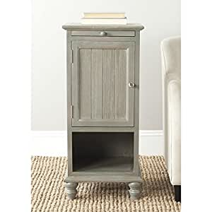 Safavieh American Home Collection Jezabel French Grey End Table