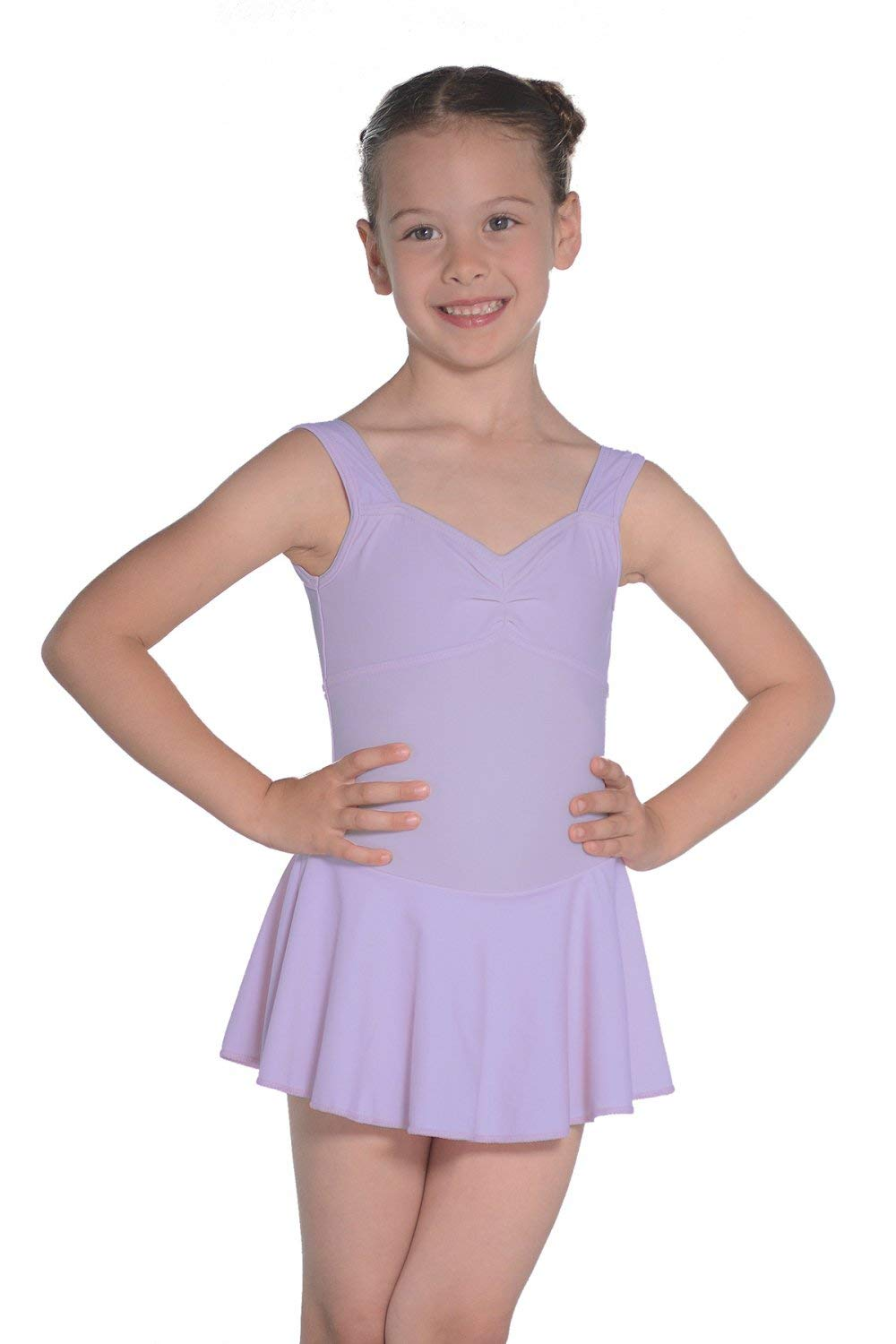 Roch Valley EMILIE Girls Skirted Leotard Pink Ages 2,3,4,5,6,7,8,9,10 years NEW