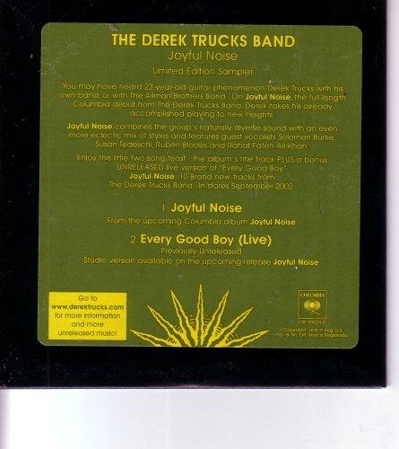 Derek Trucks Band Joyful Noise (Joyful Noise Limited Sampler (Cd Single w/ Live Track))