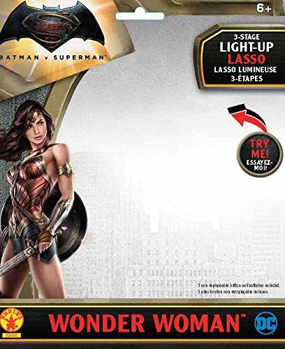 Rubie's Costume Batman v Superman: Dawn of Justice Wonder Woman Light Up Lasso