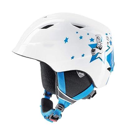 YSH Casco De Esquí Casco De Nieve Integralmente Moldeado Casco Deportivo Kida para Niños Patinaje Skateboarding