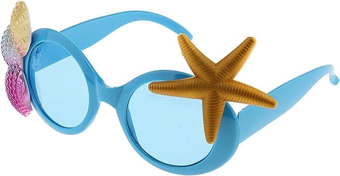 Tropical Gafas de Sol Estrella de Mar Accesorio de Disfraz para ...