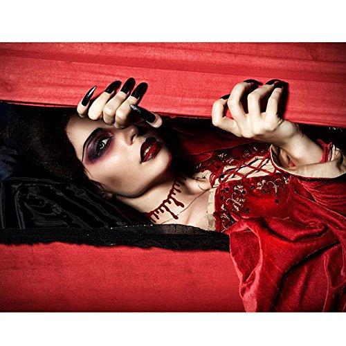 LUCKSTAR Halloween Horrible Cutting Simulation Bleeding Necklace Blood Drip Slit Throat Necklace Bleeding Red Creative Bleeding Collar Choker Necklaces Set of 2 (Creative Halloween Costumes 2 People)