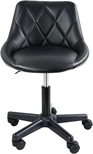 Home Vanity Chair PU Leather Computer Chair
