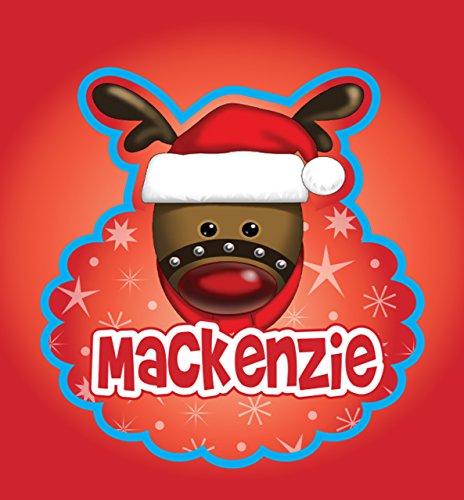 John Hinde Mackenzie My Name Flashing Badge