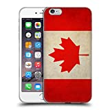 iphone 6 canada - Head Case Designs Canada Canadian Vintage Flags Soft Gel Case for Apple iPhone 6 Plus / 6s Plus