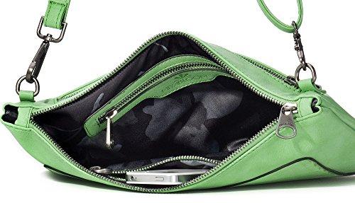 bags x bags BLOOM light MIYA x camel H handbags colour bags cm x x D W ladies clutches crossover green underarm 2 33 evening shoulder 22 bags IPIqOdw