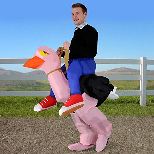 Adult-Costume Ollie Ostrich Inflatable Costu Halloween Costume -