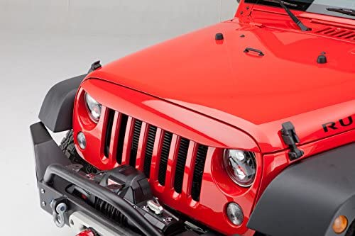 Undercover NH1001-PX8 Painted Black NightHawk Light Brow for Jeep Wrangler JK