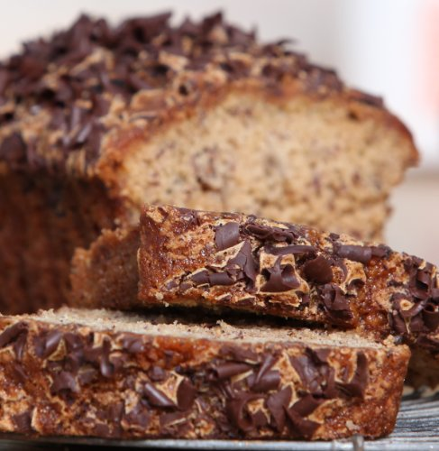 Banana Dark Chocolate Bread - Jumbo $6.99 SHIPPING on all orders, mix and match with our other delicious flavors. ()