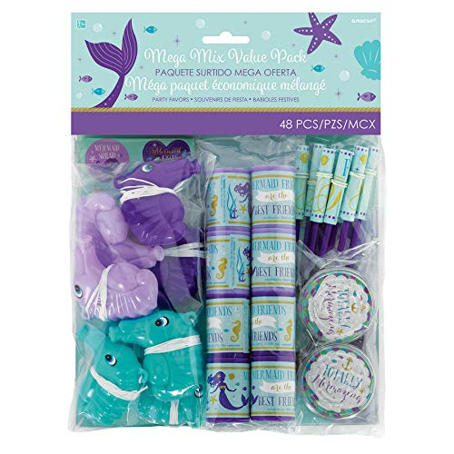 Amscan Mermaid Wishes Favor Packs (48 ct) -