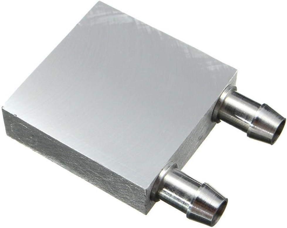 Nrthtri smt 40x40x12mm Aluminum Water Cooling Block for CPU Graphics Radiator Heatsink Eater