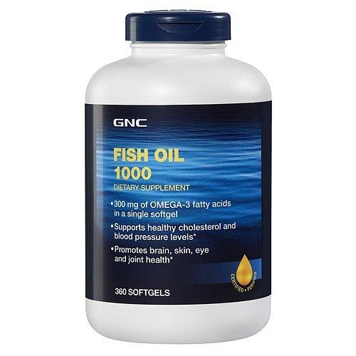 Gnc bal k ya for Fish oil gnc