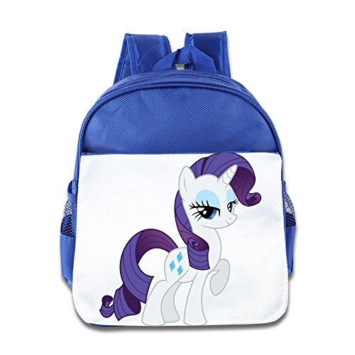 - XJBD Custom Cool Cute Horse Kids Schoolbag For 1-6 Years Old RoyalBlue