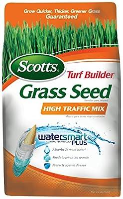 Scotts 18354 Turf Builder High Traffic Grass Seed Mix (6 Pack), 3 lb