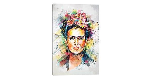 iCanvasART Frida Kahlo - Lona Impreso por Tracie Andrews 08e89c2f6bd3a