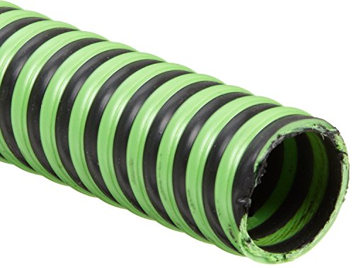 Goodyear Hose Suction (Continental ContiTech Green Hornet Xf Rubber Suction/Discharge Hose, 29 Inches Mercury Vacuum Rating, 50 PSI Maximum Pressure, 100' Length, 2-1/2