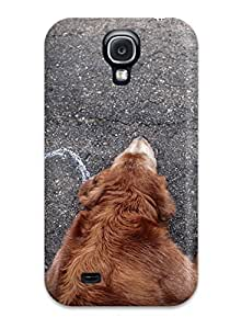 ChrisWilliamRoberson Case Cover Protector Specially Made For Galaxy S4 Puppy Demanding To Be Loved