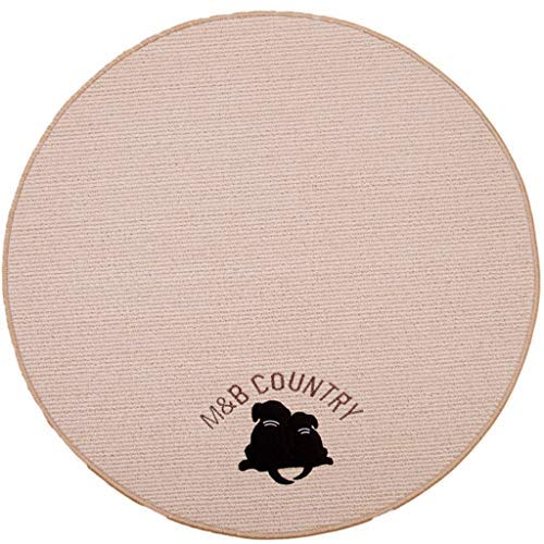 150cm ZHAS Round Carpet Round Floor mat Computer Blanket Chair Cushion Basket pad Swivel Chair Cushion Dressing Table Carpet (Size   150cm)