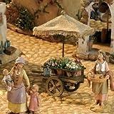 Fontanini Flower Cart