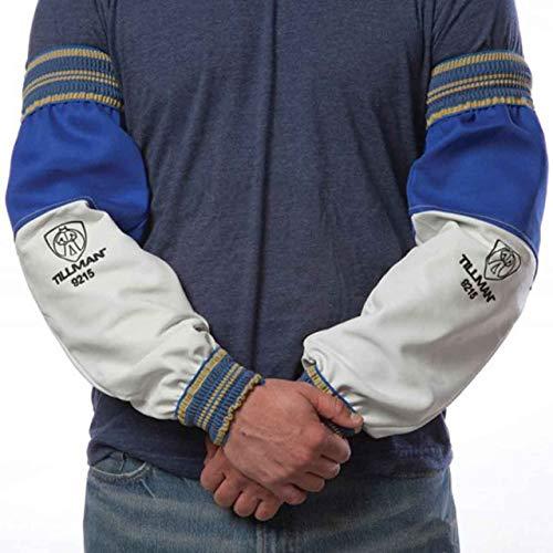 Tillman 9215 Goatskin / FR Leather Goatskin and Cotton Protective Welding Sleeves, 1 ()