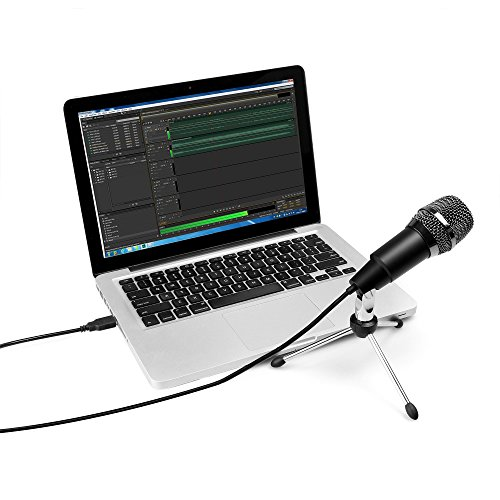FIFINE TECHNOLOGY USB Microphone,Fifine Plug &Play Home Studio USB Condenser Microphone for Skype, Recordings for YouTube, Google Voice Search, Games(Windows/Mac)-K668 by FIFINE TECHNOLOGY (Image #4)'
