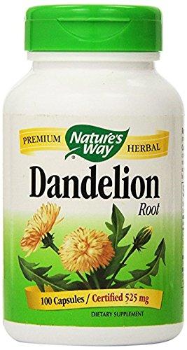 Nature's Way Dandelion Root , 525 mg, 100 Capsules