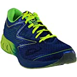 ASICS Men's Noosa FF Running Shoe, Imperial/Safety Yellow/Green Gecko, 10.5 M US