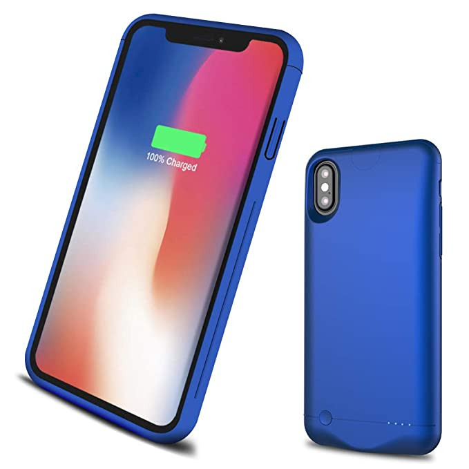 online retailer 61dbc 12c4c iPhone X Battery Case Ultra Slim,5200mAh Rechargeable Protective Portable  Charging Case for iPhone 10/iPhone X Extended Battery Pack Power Bank ...