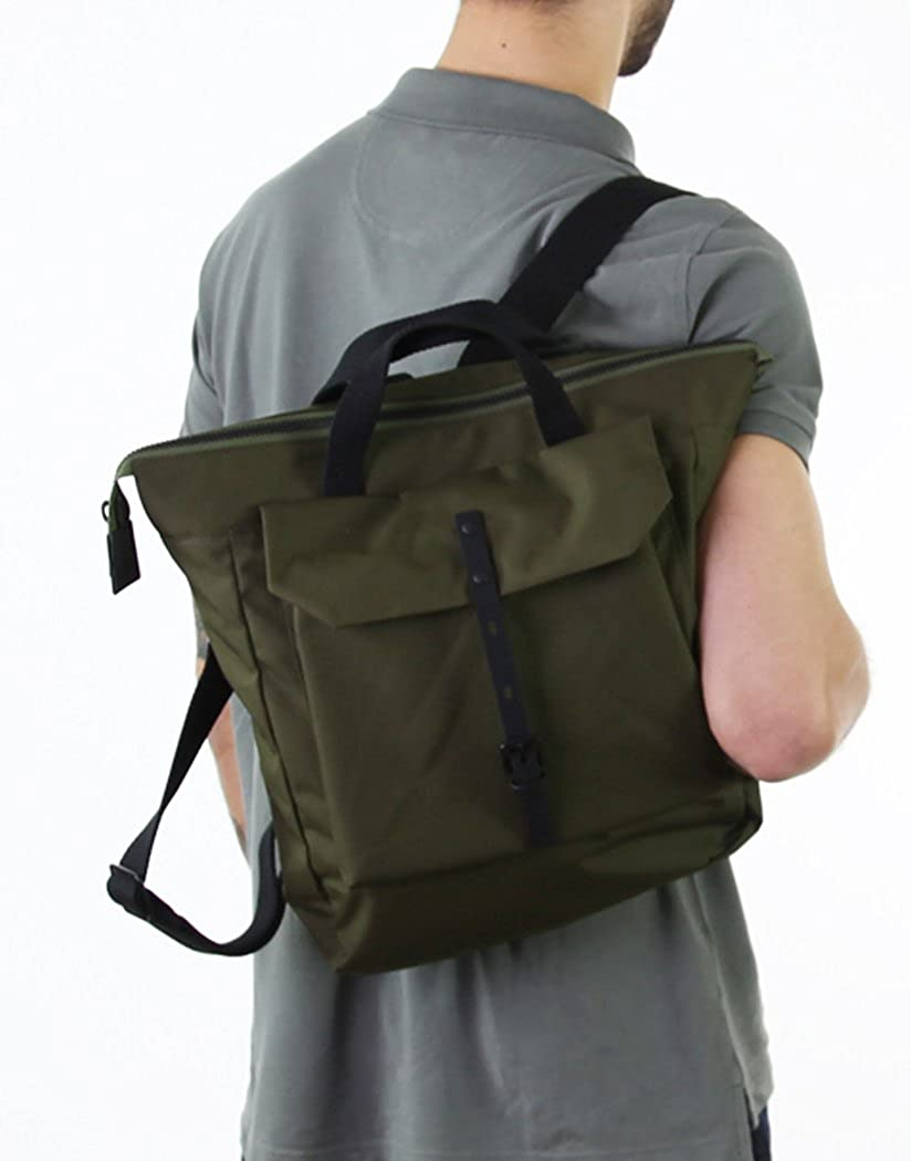 53cedf3bd5 Ally Capellino Frances Ripstop Backpack - Green  Amazon.co.uk  Shoes   Bags