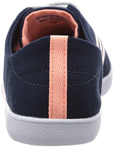 adidas Damen QT VULC Vs W High-Top Schwarz / Silber (Maruni / Nadecl / Plamat)