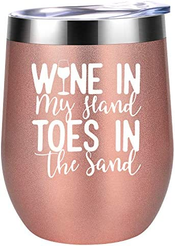 Wine My Hand Toes Sand product image