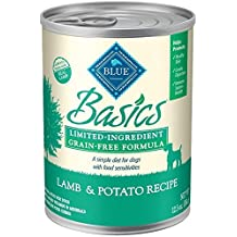 Blue Buffalo Basics Limited Ingredient Diet Grain Free Adult Lamb and Potato Canned Dog Food by Blue Buffalo