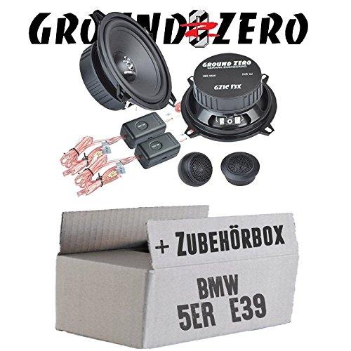 BMW 5er E39 Limo - Ground Zero GZIC 13X Kompo - 13cm Lautsprecher System - Einbauset JUST SOUND best choice for caraudio