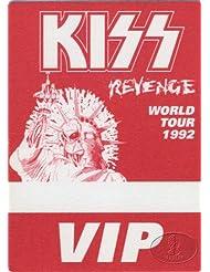 KISS 1992 Revenge Tour Backstage Pass VIP Red