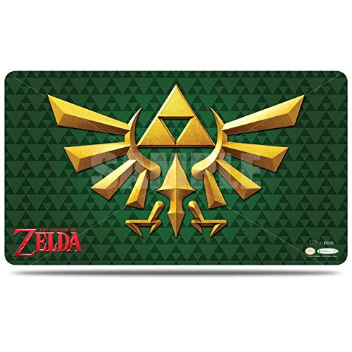 Official The Legend of Zelda Triforce Crest Playmat with Playmat Tube
