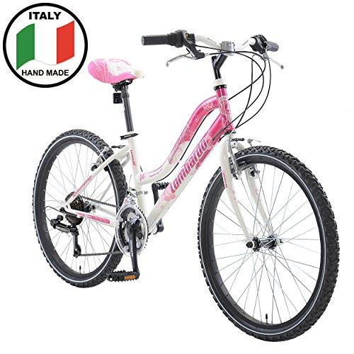 Lombardo Panarea Mountain Bike 24 Inch Wheels 13 5 Inch Frame