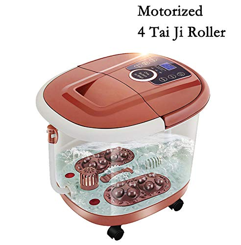 - All in One Foot Spa Massage With Motorized Rolling Massage & 4 Pro-set Program -  Heating, Rolling Massage, Temperature Setting