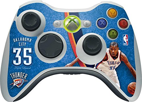 NBA - Oklahoma City Thunder - Oklahoma City Thunder Kevin Durant #35 Action Shot - Skin for 1 Microsoft Xbox 360 Wireless Controller