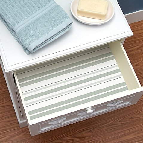Con-tacts 8-Pack Clean Cotton Striped Scented Drawer Liners