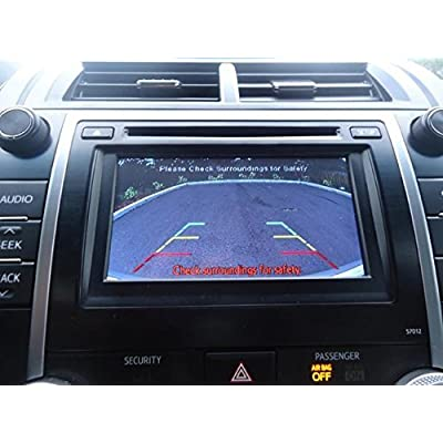 PYvideo Backup Camera Kit for Toyota Camry SE and XLE (2012-2014) for Factory Radio