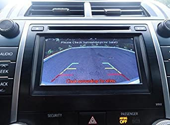 PYvideo Backup Camera Kit for Toyota Camry SE and XLE 2012-2014 for Factory Radio