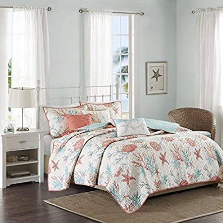 515mYYmX67L._SS450_ Coral Bedding Sets and Coral Comforters